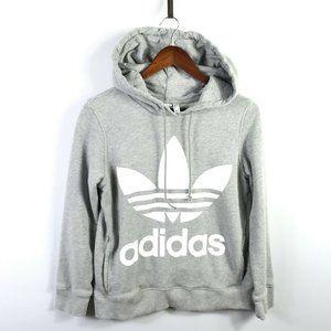 Adidas Womens Trefoil Hoodie Pullover Sweatshirt